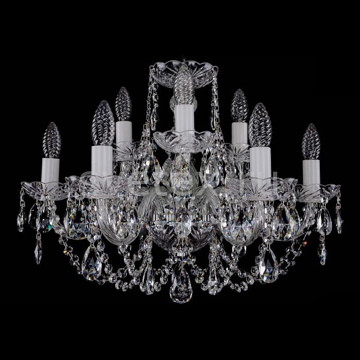 Фото Подвесная люстра Bohemia Ivele Crystal 1406 1406/6_3/195/Ni