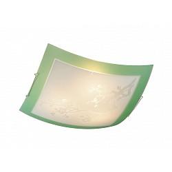 Накладной светильник SonexКвадратные<br>Артикул - SN_3145,Бренд - Sonex (Россия),Коллекция - Sakura,Гарантия, месяцы - 24,Тип лампы - компактная люминесцентная [КЛЛ] ИЛИнакаливания ИЛИсветодиодная [LED],Общее кол-во ламп - 3,Напряжение питания лампы, В - 220,Максимальная мощность лампы, Вт - 100,Лампы в комплекте - отсутствуют,Цвет плафонов и подвесок - белый с рисунком и зеленой каймой,Тип поверхности плафонов - матовый,Материал плафонов и подвесок - стекло,Цвет арматуры - хром,Тип поверхности арматуры - глянцевый,Материал арматуры - металл,Возможность подлючения диммера - можно, если установить лампу накаливания,Тип цоколя лампы - E27,Класс электробезопасности - I,Общая мощность, Вт - 300,Степень пылевлагозащиты, IP - 20,Диапазон рабочих температур - комнатная температура<br>