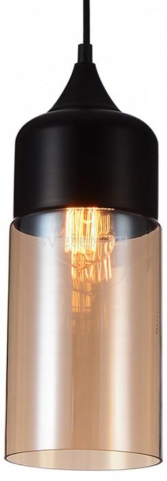 Подвесной светильник FavouriteБарные<br>Артикул - FV_1591-1P,Бренд - Favourite (Германия),Коллекция - Kuppe,Гарантия, месяцы - 24,Высота, мм - 355-1355,Диаметр, мм - 130,Тип лампы - компактная люминесцентная [КЛЛ] ИЛИнакаливания ИЛИсветодиодная [LED],Общее кол-во ламп - 1,Напряжение питания лампы, В - 220,Максимальная мощность лампы, Вт - 40,Лампы в комплекте - отсутствуют,Цвет плафонов и подвесок - янтарный,Тип поверхности плафонов - прозрачный,Материал плафонов и подвесок - стекло,Цвет арматуры - черный,Тип поверхности арматуры - матовый,Материал арматуры - металл,Количество плафонов - 1,Возможность подлючения диммера - можно, если установить лампу накаливания,Тип цоколя лампы - E27,Класс электробезопасности - I,Степень пылевлагозащиты, IP - 20,Диапазон рабочих температур - комнатная температура,Дополнительные параметры - способ крепления к потолку - на крюке, регулируется по высоте<br>