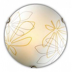 Накладной светильник SonexКруглые<br>Артикул - SN_142_K,Бренд - Sonex (Россия),Коллекция - Mortia,Гарантия, месяцы - 24,Диаметр, мм - 300,Тип лампы - компактная люминесцентная [КЛЛ] ИЛИнакаливания ИЛИсветодиодная [LED],Общее кол-во ламп - 2,Напряжение питания лампы, В - 220,Максимальная мощность лампы, Вт - 60,Лампы в комплекте - отсутствуют,Цвет плафонов и подвесок - белый с желто-черным рисунком,Тип поверхности плафонов - матовый,Материал плафонов и подвесок - стекло,Цвет арматуры - золото,Тип поверхности арматуры - глянцевый,Материал арматуры - металл,Возможность подлючения диммера - можно, если установить лампу накаливания,Тип цоколя лампы - E27,Класс электробезопасности - I,Общая мощность, Вт - 120,Степень пылевлагозащиты, IP - 20,Диапазон рабочих температур - комнатная температура<br>