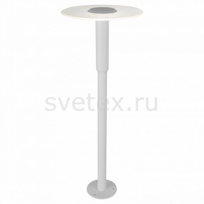 Наземный низкий светильник ST-LuceСветильники<br>Артикул - SL099.505.01,Бренд - ST-Luce (Китай),Коллекция - SL099,Гарантия, месяцы - 24,Время изготовления, дней - 1,Высота, мм - 800,Диаметр, мм - 300,Размер упаковки, мм - 630х410х120,Тип лампы - светодиодная [LED],Общее кол-во ламп - 1,Напряжение питания лампы, В - 220,Максимальная мощность лампы, Вт - 6,Цвет лампы - белый,Лампы в комплекте - светодиодная [LED],Цвет плафонов и подвесок - белый,Тип поверхности плафонов - матовый,Материал плафонов и подвесок - акрил,Цвет арматуры - белый,Тип поверхности арматуры - матовый,Материал арматуры - металл,Количество плафонов - 1,Цветовая температура, K - 4000 K,Класс электробезопасности - I,Степень пылевлагозащиты, IP - 65,Диапазон рабочих температур - от -40^С до +40^C<br>