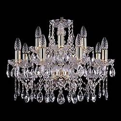 Подвесная люстра Bohemia Ivele CrystalБолее 6 ламп<br>Артикул - BI_1413_8_4_200,Бренд - Bohemia Ivele Crystal (Чехия),Коллекция - 1413,Гарантия, месяцы - 12,Высота, мм - 410,Диаметр, мм - 490,Размер упаковки, мм - 510x510x200,Тип лампы - компактная люминесцентная [КЛЛ] ИЛИнакаливания ИЛИсветодиодная [LED],Общее кол-во ламп - 12,Напряжение питания лампы, В - 220,Максимальная мощность лампы, Вт - 40,Лампы в комплекте - отсутствуют,Цвет плафонов и подвесок - неокрашенный,Тип поверхности плафонов - прозрачный,Материал плафонов и подвесок - хрусталь,Цвет арматуры - золото, неокрашенный,Тип поверхности арматуры - глянцевый, прозрачный,Материал арматуры - металл, стекло,Возможность подлючения диммера - можно, если установить лампу накаливания,Форма и тип колбы - свеча ИЛИ свеча на ветру,Тип цоколя лампы - E14,Класс электробезопасности - I,Общая мощность, Вт - 480,Степень пылевлагозащиты, IP - 20,Диапазон рабочих температур - комнатная температура,Дополнительные параметры - способ крепления светильника к потолку – на крюке<br>