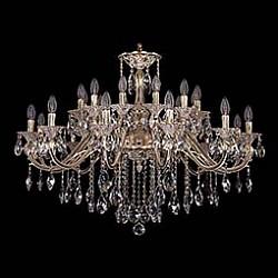 Подвесная люстра Bohemia Ivele CrystalБолее 6 ламп<br>Артикул - BI_1703_24_360_B_GW,Бренд - Bohemia Ivele Crystal (Чехия),Коллекция - 1703,Гарантия, месяцы - 24,Высота, мм - 770,Диаметр, мм - 1040,Размер упаковки, мм - 710x710x240,Тип лампы - компактная люминесцентная [КЛЛ] ИЛИнакаливания ИЛИсветодиодная [LED],Общее кол-во ламп - 24,Напряжение питания лампы, В - 220,Максимальная мощность лампы, Вт - 40,Лампы в комплекте - отсутствуют,Цвет плафонов и подвесок - неокрашенный,Тип поверхности плафонов - прозрачный,Материал плафонов и подвесок - хрусталь,Цвет арматуры - золото беленое,Тип поверхности арматуры - глянцевый, рельефный,Материал арматуры - латунь,Возможность подлючения диммера - можно, если установить лампу накаливания,Форма и тип колбы - свеча ИЛИ свеча на ветру,Тип цоколя лампы - E14,Класс электробезопасности - I,Общая мощность, Вт - 960,Степень пылевлагозащиты, IP - 20,Диапазон рабочих температур - комнатная температура,Дополнительные параметры - способ крепления светильника к потолку - на крюке, указана высота светильника без подвеса<br>