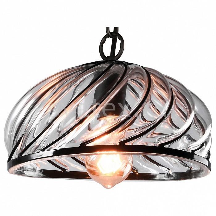 Подвесной светильник LussoleБарные<br>Артикул - LSP-9874,Бренд - Lussole (Италия),Коллекция - Loft,Гарантия, месяцы - 24,Высота, мм - 210-1200,Диаметр, мм - 260,Тип лампы - компактная люминесцентная [КЛЛ] ИЛИнакаливания ИЛИсветодиодная [LED],Общее кол-во ламп - 1,Напряжение питания лампы, В - 220,Максимальная мощность лампы, Вт - 60,Лампы в комплекте - отсутствуют,Цвет плафонов и подвесок - неокрашенный,Тип поверхности плафонов - прозрачный, рельефный,Материал плафонов и подвесок - стекло,Цвет арматуры - черный,Тип поверхности арматуры - матовый,Материал арматуры - металл,Количество плафонов - 1,Возможность подлючения диммера - можно, если установить лампу накаливания,Тип цоколя лампы - E27,Класс электробезопасности - I,Степень пылевлагозащиты, IP - 20,Диапазон рабочих температур - комнатная температура,Дополнительные параметры - способ крепления светильника к потолку - на монтажной пластине, регулируется по высоте<br>
