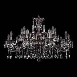 Подвесная люстра Bohemia Ivele CrystalБолее 6 ламп<br>Артикул - BI_1703_20_360_A_NB,Бренд - Bohemia Ivele Crystal (Чехия),Коллекция - 1703,Гарантия, месяцы - 24,Высота, мм - 650,Диаметр, мм - 1040,Размер упаковки, мм - 710x710x240,Тип лампы - компактная люминесцентная [КЛЛ] ИЛИнакаливания ИЛИсветодиодная [LED],Общее кол-во ламп - 20,Напряжение питания лампы, В - 220,Максимальная мощность лампы, Вт - 40,Лампы в комплекте - отсутствуют,Цвет плафонов и подвесок - неокрашенный,Тип поверхности плафонов - прозрачный,Материал плафонов и подвесок - хрусталь,Цвет арматуры - никель черненый,Тип поверхности арматуры - глянцевый, рельефный,Материал арматуры - латунь,Возможность подлючения диммера - можно, если установить лампу накаливания,Форма и тип колбы - свеча ИЛИ свеча на ветру,Тип цоколя лампы - E14,Класс электробезопасности - I,Общая мощность, Вт - 800,Степень пылевлагозащиты, IP - 20,Диапазон рабочих температур - комнатная температура,Дополнительные параметры - способ крепления светильника к потолку - на крюке, указана высота светильника без подвеса<br>