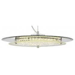 Подвесной светильник GloboС 1 плафоном<br>Артикул - GB_49315H,Бренд - Globo (Австрия),Коллекция - Palma,Гарантия, месяцы - 24,Высота, мм - 1050,Диаметр, мм - 360,Тип лампы - светодиодная [LED],Общее кол-во ламп - 1,Напряжение питания лампы, В - 12,Максимальная мощность лампы, Вт - 22,Лампы в комплекте - светодиодная [LED],Цвет плафонов и подвесок - неокрашенный,Тип поверхности плафонов - матовый, прозрачный,Материал плафонов и подвесок - стекло, хрусталь K9,Цвет арматуры - хром,Тип поверхности арматуры - глянцевый,Материал арматуры - металл,Возможность подлючения диммера - нельзя,Класс электробезопасности - I,Степень пылевлагозащиты, IP - 20,Диапазон рабочих температур - комнатная температура,Дополнительные параметры - способ крепления светильника к потолку -  на монтажной пластине<br>