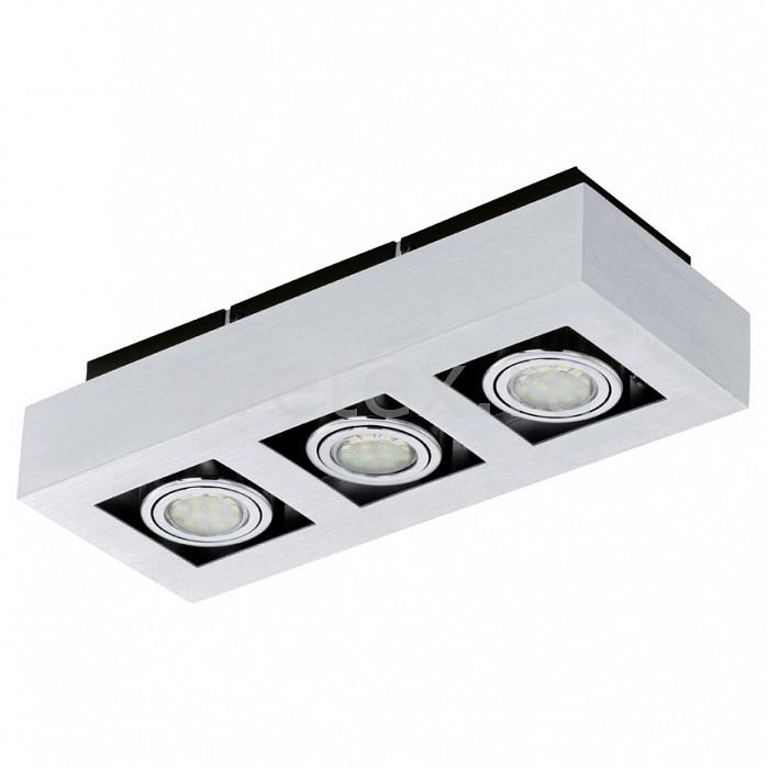 Накладной светильник EgloНакладные светильники<br>Артикул - EG_91354,Бренд - Eglo (Австрия),Коллекция - Loke 1,Гарантия, месяцы - 60,Время изготовления, дней - 1,Длина, мм - 360,Ширина, мм - 140,Высота, мм - 75,Тип лампы - светодиодная [LED],Общее кол-во ламп - 3,Напряжение питания лампы, В - 220,Максимальная мощность лампы, Вт - 3,Цвет лампы - белый теплый,Лампы в комплекте - светодиодные [LED] GU10,Цвет плафонов и подвесок - хром,Тип поверхности плафонов - матовый,Материал плафонов и подвесок - дюралюминий,Цвет арматуры - черный,Тип поверхности арматуры - матовый,Материал арматуры - сталь,Количество плафонов - 3,Форма и тип колбы - полусферическая с рефлектором,Тип цоколя лампы - GU10,Цветовая температура, K - 3000 K,Световой поток, лм - 540,Экономичнее лампы накаливания - в 6 раз,Класс электробезопасности - I,Общая мощность, Вт - 9,Степень пылевлагозащиты, IP - 20,Диапазон рабочих температур - комнатная температура,Дополнительные параметры - поворотный светильник<br>
