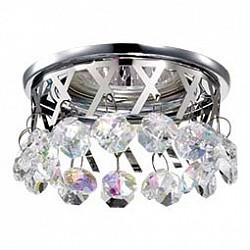 Встраиваемый светильник NovotechСветильники для натяжных потолков<br>Артикул - NV_370175,Бренд - Novotech (Венгрия),Коллекция - Vik,Гарантия, месяцы - 24,Время изготовления, дней - 1,Высота, мм - 100,Диаметр, мм - 85,Тип лампы - галогеновая ИЛИсветодиодная [LED],Общее кол-во ламп - 1,Напряжение питания лампы, В - 12,Максимальная мощность лампы, Вт - 50,Лампы в комплекте - отсутствуют,Цвет плафонов и подвесок - разноцветный,Тип поверхности плафонов - прозрачный, рельефный,Материал плафонов и подвесок - хрусталь,Цвет арматуры - хром,Тип поверхности арматуры - глянцевый,Материал арматуры - металл,Форма и тип колбы - полусферическая с рефлектором,Тип цоколя лампы - GX5.3,Класс электробезопасности - III,Степень пылевлагозащиты, IP - 20,Диапазон рабочих температур - комнатная температура<br>