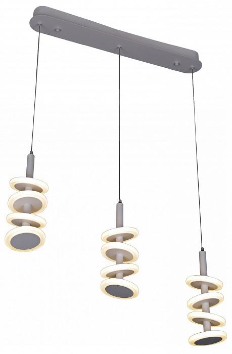 Подвесной светильник Kink LightСветодиодные<br>Артикул - KL_08520-3A,Бренд - Kink Light (Китай),Коллекция - Пружинки,Гарантия, месяцы - 24,Длина, мм - 570,Высота, мм - 1100,Размер упаковки, мм - 170x470x640,Тип лампы - светодиодная [LED],Общее кол-во ламп - 12,Напряжение питания лампы, В - 220,Максимальная мощность лампы, Вт - 3,Цвет лампы - белый,Лампы в комплекте - светодиодные [LED],Цвет плафонов и подвесок - белый,Тип поверхности плафонов - матовый,Материал плафонов и подвесок - акрил,Цвет арматуры - хром,Тип поверхности арматуры - глянцевый,Материал арматуры - металл,Количество плафонов - 12,Возможность подлючения диммера - нельзя,Цветовая температура, K - 4200 K,Световой поток, лм - 3240,Экономичнее лампы накаливания - В 5, 9 раза,Светоотдача, лм/Вт - 90,Класс электробезопасности - I,Общая мощность, Вт - 36,Степень пылевлагозащиты, IP - 20,Диапазон рабочих температур - комнатная температура,Дополнительные параметры - способ крепления светильника к потолку - на монтажной пластине, светильник регулируется по высоте<br>