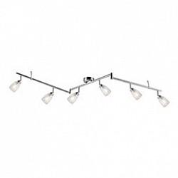 Спот GloboБолее 4 ламп<br>Артикул - GB_56023-6,Бренд - Globo (Австрия),Коллекция - Crash,Гарантия, месяцы - 24,Размер упаковки, мм - 180x100x550,Тип лампы - светодиодная [LED],Общее кол-во ламп - 6,Напряжение питания лампы, В - 220,Максимальная мощность лампы, Вт - 3,Лампы в комплекте - светодиодные [LED] G9,Цвет плафонов и подвесок - неокрашенный,Тип поверхности плафонов - прозрачный,Материал плафонов и подвесок - стекло,Цвет арматуры - никель, хром,Тип поверхности арматуры - глянцевый, сатин,Материал арматуры - металл,Возможность подлючения диммера - нельзя,Форма и тип колбы - пальчиковая,Тип цоколя лампы - G9,Класс электробезопасности - I,Общая мощность, Вт - 18,Степень пылевлагозащиты, IP - 20,Диапазон рабочих температур - комнатная температура,Дополнительные параметры - способ крепления светильника к стене и потолку - на монтажной пластине, поворотный светильник<br>