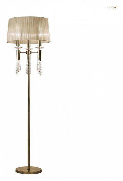 Торшер MantraСветильники<br>Артикул - MN_3889,Бренд - Mantra (Испания),Коллекция - Tiffany,Гарантия, месяцы - 24,Время изготовления, дней - 1,Высота, мм - 1750,Диаметр, мм - 500,Тип лампы - галогеновая, компактная люминесцентная [КЛЛ] ИЛИсветодиодные [LED],Количество ламп - 3, 3,Общее кол-во ламп - 6,Напряжение питания лампы, В - 220,Максимальная мощность лампы, Вт - 5, 20,Лампы в комплекте - отсутствуют,Цвет плафонов и подвесок - кремовый, неокрашенный,Тип поверхности плафонов - матовый, прозрачный,Материал плафонов и подвесок - органза, хрусталь,Цвет арматуры - бронза, неокрашенный,Тип поверхности арматуры - глянцевый, прозрачный,Материал арматуры - металл, стекло,Количество плафонов - 1,Наличие выключателя, диммера или пульта ДУ - ножной выключатель,Компоненты, входящие в комплект - провод электропитания с вилкой без заземления,Тип цоколя лампы - G9, E27,Класс электробезопасности - II,Общая мощность, Вт - 75,Степень пылевлагозащиты, IP - 20,Диапазон рабочих температур - комнатная температура<br>