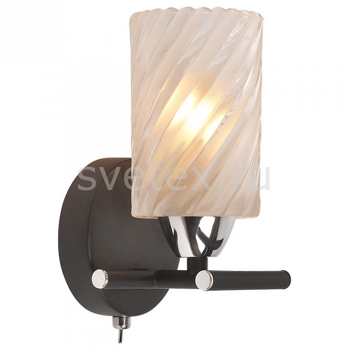 Фото Бра IDLamp 208 208/1A-Blackchrome