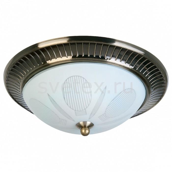 Накладной светильник TopLightКруглые<br>Артикул - TPL_TL5060Y-02AB,Бренд - TopLight (Россия),Коллекция - Fae,Гарантия, месяцы - 24,Высота, мм - 100,Диаметр, мм - 270,Тип лампы - компактная люминесцентная [КЛЛ] ИЛИнакаливания ИЛИсветодиодная [LED],Общее кол-во ламп - 2,Напряжение питания лампы, В - 220,Максимальная мощность лампы, Вт - 40,Лампы в комплекте - отсутствуют,Цвет плафонов и подвесок - белый с рисунком,Тип поверхности плафонов - матовый,Материал плафонов и подвесок - стекло,Цвет арматуры - бронза античная,Тип поверхности арматуры - матовый, рельефный,Материал арматуры - металл,Количество плафонов - 1,Возможность подлючения диммера - можно, если установить лампу накаливания,Тип цоколя лампы - E27,Класс электробезопасности - I,Общая мощность, Вт - 80,Степень пылевлагозащиты, IP - 20,Диапазон рабочих температур - комнатная температура,Дополнительные параметры - способ крепления светильника к потолку - на монтажной пластине<br>