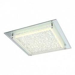Накладной светильник GloboКвадратные<br>Артикул - GB_49302,Бренд - Globo (Австрия),Коллекция - Liana,Гарантия, месяцы - 24,Высота, мм - 65,Размер упаковки, мм - 440x80x440,Тип лампы - светодиодная [LED],Общее кол-во ламп - 1,Напряжение питания лампы, В - 29.7,Максимальная мощность лампы, Вт - 18,Лампы в комплекте - светодиодная [LED],Цвет плафонов и подвесок - неокрашенный с каймой,Тип поверхности плафонов - матовый, прозрачный,Материал плафонов и подвесок - стекло, хрусталь K5,Цвет арматуры - хром,Тип поверхности арматуры - глянцевый,Материал арматуры - металл,Возможность подлючения диммера - нельзя,Класс электробезопасности - I,Степень пылевлагозащиты, IP - 20,Диапазон рабочих температур - комнатная температура,Дополнительные параметры - способ крепления светильника к потолку - на монтажной пластине<br>