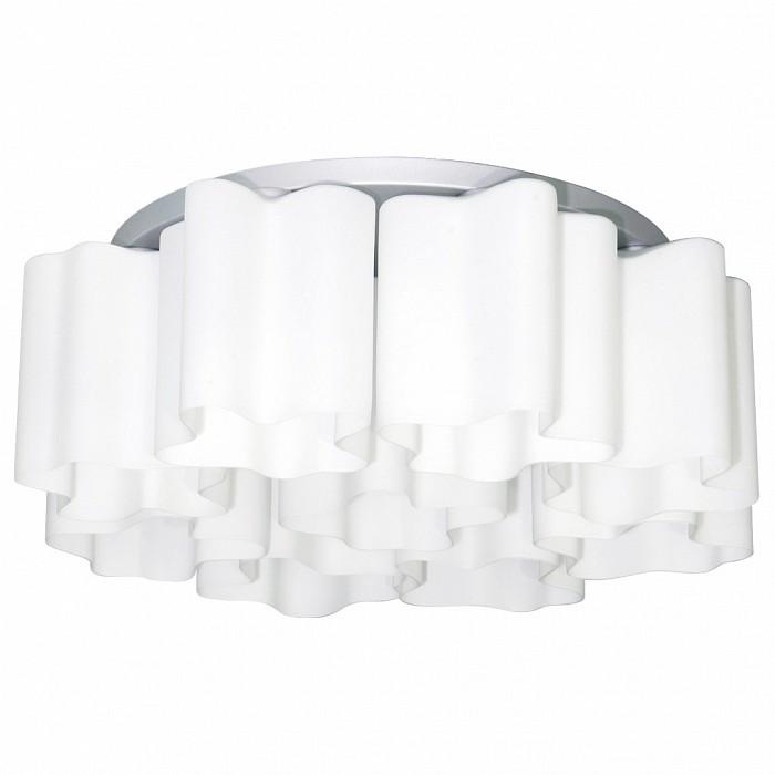 Потолочная люстра LightstarЛюстры<br>Артикул - LS_802090,Бренд - Lightstar (Италия),Коллекция - Nubi,Гарантия, месяцы - 24,Время изготовления, дней - 1,Высота, мм - 230,Диаметр, мм - 700,Тип лампы - компактная люминесцентная [КЛЛ] ИЛИнакаливания ИЛИсветодиодная [LED],Общее кол-во ламп - 9,Напряжение питания лампы, В - 220,Максимальная мощность лампы, Вт - 40,Лампы в комплекте - отсутствуют,Цвет плафонов и подвесок - белый,Тип поверхности плафонов - матовый,Материал плафонов и подвесок - стекло,Цвет арматуры - хром,Тип поверхности арматуры - матовый,Материал арматуры - металл,Количество плафонов - 9,Возможность подлючения диммера - можно, если установить лампу накаливания,Тип цоколя лампы - E27,Класс электробезопасности - I,Общая мощность, Вт - 360,Степень пылевлагозащиты, IP - 20,Диапазон рабочих температур - комнатная температура<br>