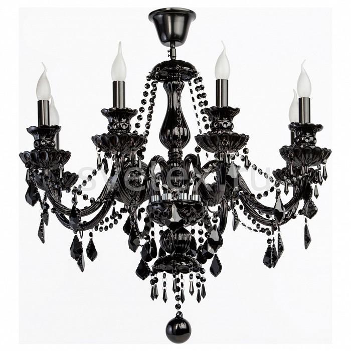 Люстра на штанге ChiaroБолее 6 ламп<br>Артикул - CH_313012308,Бренд - Chiaro (Германия),Коллекция - Барселона,Гарантия, месяцы - 24,Высота, мм - 800,Диаметр, мм - 800,Размер упаковки, мм - 560x560x320,Тип лампы - компактная люминесцентная [КЛЛ] ИЛИнакаливания ИЛИсветодиодная [LED],Общее кол-во ламп - 8,Напряжение питания лампы, В - 220,Максимальная мощность лампы, Вт - 60,Лампы в комплекте - отсутствуют,Цвет плафонов и подвесок - черный,Тип поверхности плафонов - глянцевый,Материал плафонов и подвесок - хрусталь,Цвет арматуры - черный,Тип поверхности арматуры - глянцевый, рельефный,Материал арматуры - металл, стекло,Возможность подлючения диммера - можно, если установить лампу накаливания,Форма и тип колбы - свеча ИЛИ свеча на ветру,Тип цоколя лампы - E14,Класс электробезопасности - I,Общая мощность, Вт - 480,Степень пылевлагозащиты, IP - 20,Диапазон рабочих температур - комнатная температура<br>