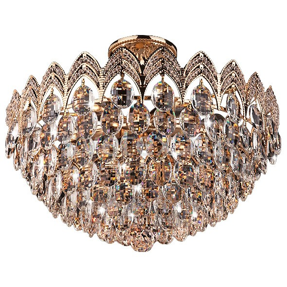 Люстра на штанге Strotskis5 или 6 ламп<br>Артикул - EV_70225,Бренд - Strotskis (Китай),Коллекция - 3649,Гарантия, месяцы - 24,Высота, мм - 330,Диаметр, мм - 460,Тип лампы - компактная люминесцентная [КЛЛ] ИЛИнакаливания ИЛИсветодиодная [LED],Общее кол-во ламп - 6,Напряжение питания лампы, В - 220,Максимальная мощность лампы, Вт - 60,Лампы в комплекте - отсутствуют,Цвет плафонов и подвесок - неокрашенный,Тип поверхности плафонов - прозрачный,Материал плафонов и подвесок - хрусталь,Цвет арматуры - золото,Тип поверхности арматуры - глянцевый,Материал арматуры - металл,Возможность подлючения диммера - можно, если установить лампу накаливания,Тип цоколя лампы - E14,Класс электробезопасности - I,Общая мощность, Вт - 360,Степень пылевлагозащиты, IP - 20,Диапазон рабочих температур - комнатная температура,Дополнительные параметры - способ крепления светильника к потолку - на монтажной пластине<br>