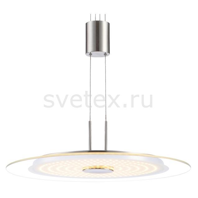 Подвесной светильник GloboСветодиодные<br>Артикул - GB_15818,Бренд - Globo (Австрия),Коллекция - Dario,Гарантия, месяцы - 24,Высота, мм - 800-1500,Диаметр, мм - 350,Тип лампы - светодиодная [LED],Общее кол-во ламп - 1,Напряжение питания лампы, В - 40.8,Максимальная мощность лампы, Вт - 21.6,Цвет лампы - белый теплый,Лампы в комплекте - светодиодная [LED],Цвет плафонов и подвесок - неокрашенный,Тип поверхности плафонов - прозрачный,Материал плафонов и подвесок - стекло,Цвет арматуры - никель,Тип поверхности арматуры - матовый,Материал арматуры - металл,Количество плафонов - 1,Возможность подлючения диммера - нельзя,Компоненты, входящие в комплект - блок питания 40.8В,Цветовая температура, K - 3000 K,Световой поток, лм - 1700,Экономичнее лампы накаливания - в 5.5 раза,Светоотдача, лм/Вт - 79,Класс электробезопасности - I,Напряжение питания, В - 220,Степень пылевлагозащиты, IP - 20,Диапазон рабочих температур - комнатная температура,Дополнительные параметры - высота светильника регулируется<br>