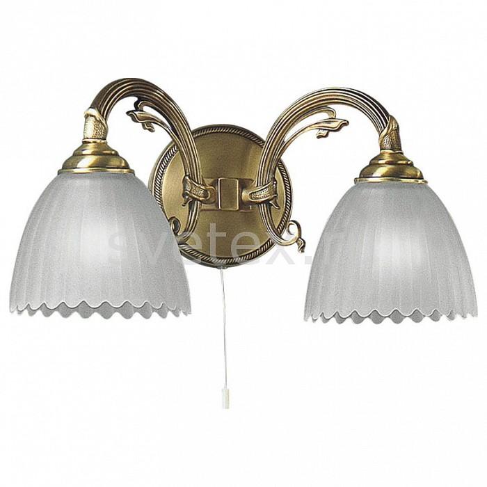 Бра Reccagni AngeloНастенные светильники<br>Артикул - RA_A_3520_2,Бренд - Reccagni Angelo (Италия),Коллекция - 3520,Гарантия, месяцы - 24,Ширина, мм - 400,Высота, мм - 150,Выступ, мм - 260,Тип лампы - компактная люминесцентная [КЛЛ] ИЛИнакаливания ИЛИсветодиодная [LED],Общее кол-во ламп - 2,Напряжение питания лампы, В - 220,Максимальная мощность лампы, Вт - 60,Лампы в комплекте - отсутствуют,Цвет плафонов и подвесок - белый,Тип поверхности плафонов - матовый, рельефный,Материал плафонов и подвесок - стекло,Цвет арматуры - бронза состаренная,Тип поверхности арматуры - матовый, рельефный,Материал арматуры - латунь,Количество плафонов - 2,Наличие выключателя, диммера или пульта ДУ - выключатель шнуровой,Возможность подлючения диммера - можно, если установить лампу накаливания,Тип цоколя лампы - E27,Класс электробезопасности - I,Общая мощность, Вт - 120,Степень пылевлагозащиты, IP - 20,Диапазон рабочих температур - комнатная температура,Дополнительные параметры - способ крепления светильника на стене – на монтажной пластине, светильник предназначен для использования со скрытой проводкой<br>