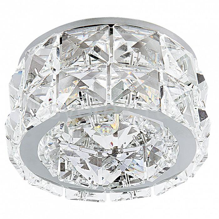 Встраиваемый светильник LightstarВстраиваемые светильники<br>Артикул - LS_032804,Бренд - Lightstar (Италия),Коллекция - Onda,Гарантия, месяцы - 24,Высота, мм - 80,Выступ, мм - 50,Глубина, мм - 30,Диаметр, мм - 98,Размер врезного отверстия, мм - 45,Тип лампы - галогеновая ИЛИсветодиодная [LED],Общее кол-во ламп - 1,Напряжение питания лампы, В - 220,Максимальная мощность лампы, Вт - 50,Лампы в комплекте - отсутствуют,Цвет плафонов и подвесок - неокрашенный,Тип поверхности плафонов - прозрачный,Материал плафонов и подвесок - хрусталь,Цвет арматуры - хром,Тип поверхности арматуры - глянцевый,Материал арматуры - металл,Количество плафонов - 1,Возможность подлючения диммера - можно,Форма и тип колбы - пальчиковая,Тип цоколя лампы - G9,Класс электробезопасности - I,Степень пылевлагозащиты, IP - 20,Диапазон рабочих температур - комнатная температура<br>