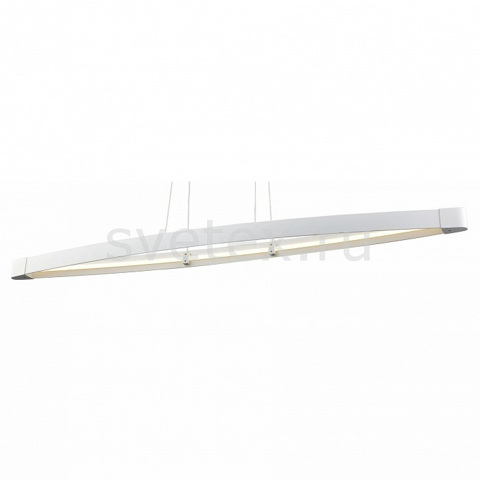 Подвесной светильник ST-LuceСветодиодные<br>Артикул - SL920.103.01,Бренд - ST-Luce (Италия),Коллекция - SL920,Гарантия, месяцы - 24,Время изготовления, дней - 1,Длина, мм - 1190,Ширина, мм - 145,Высота, мм - 1200,Размер упаковки, мм - 127х220х100,Тип лампы - светодиодная [LED],Общее кол-во ламп - 1,Напряжение питания лампы, В - 220,Максимальная мощность лампы, Вт - 33, 6,Цвет лампы - белый,Лампы в комплекте - светодиодная [LED],Цвет плафонов и подвесок - белый,Тип поверхности плафонов - матовый,Материал плафонов и подвесок - акрил, металл,Цвет арматуры - белый,Тип поверхности арматуры - матовый,Материал арматуры - металл,Количество плафонов - 1,Возможность подлючения диммера - нельзя,Цветовая температура, K - 4000 K,Экономичнее лампы накаливания - в 10 раз,Класс электробезопасности - I,Степень пылевлагозащиты, IP - 20,Диапазон рабочих температур - комнатная температура,Дополнительные параметры - способ крепления светильника к потолку - на монтажной пластине<br>