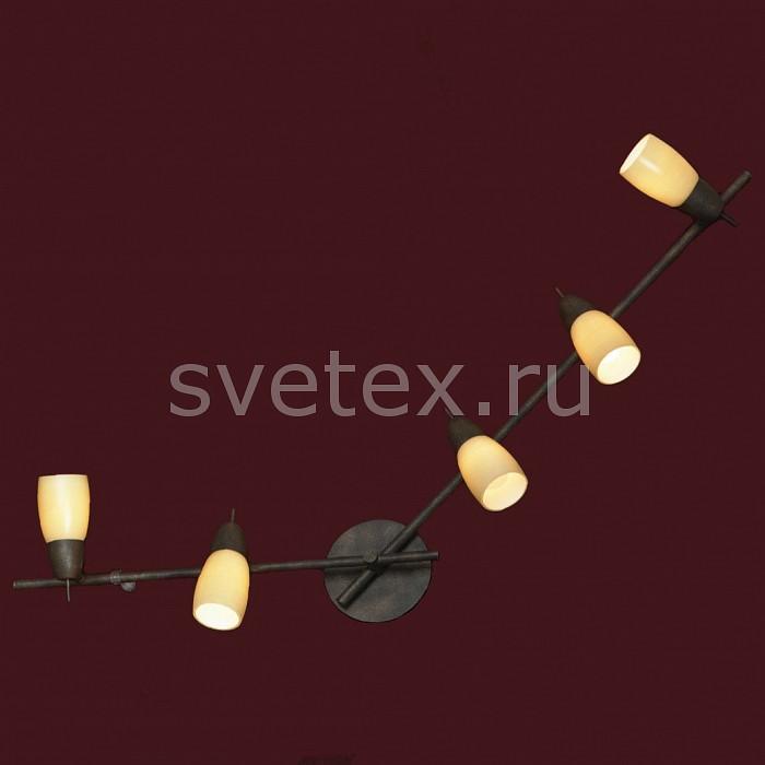 Спот LussoleСпоты<br>Артикул - LSQ-6919-05,Бренд - Lussole (Италия),Коллекция - Cevedale,Гарантия, месяцы - 24,Время изготовления, дней - 1,Длина, мм - 1100,Ширина, мм - 110,Выступ, мм - 200,Тип лампы - компактная люминесцентная [КЛЛ] ИЛИнакаливания ИЛИсветодиодная [LED],Общее кол-во ламп - 5,Напряжение питания лампы, В - 220,Максимальная мощность лампы, Вт - 40,Лампы в комплекте - отсутствуют,Цвет плафонов и подвесок - бледно-желтый,Тип поверхности плафонов - матовый,Материал плафонов и подвесок - стекло,Цвет арматуры - под ржавчину,Тип поверхности арматуры - матовый,Материал арматуры - сталь,Количество плафонов - 5,Возможность подлючения диммера - можно, если установить лампу накаливания,Тип цоколя лампы - E14,Класс электробезопасности - I,Общая мощность, Вт - 200,Степень пылевлагозащиты, IP - 20,Диапазон рабочих температур - комнатная температура,Дополнительные параметры - поворотный светильник<br>