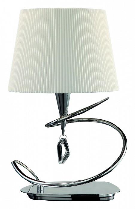 Настольная лампа MantraС абажуром<br>Артикул - MN_1650,Бренд - Mantra (Испания),Коллекция - Mara,Гарантия, месяцы - 24,Время изготовления, дней - 1,Высота, мм - 460,Диаметр, мм - 265,Тип лампы - компактная люминесцентная [КЛЛ] ИЛИсветодиодная [LED],Общее кол-во ламп - 1,Напряжение питания лампы, В - 220,Максимальная мощность лампы, Вт - 20,Лампы в комплекте - отсутствуют,Цвет плафонов и подвесок - белый, неокрашенный,Тип поверхности плафонов - матовый, рельефный,Материал плафонов и подвесок - ткань с перфорацией, стекло,Цвет арматуры - хром,Тип поверхности арматуры - глянцевый,Материал арматуры - металл,Количество плафонов - 1,Наличие выключателя, диммера или пульта ДУ - выключатель на проводе,Компоненты, входящие в комплект - провод электропитания с вилкой без заземления,Тип цоколя лампы - E14,Класс электробезопасности - II,Степень пылевлагозащиты, IP - 20,Диапазон рабочих температур - комнатная температура<br>