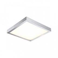 Накладной светильник GloboКвадратные<br>Артикул - GB_41662,Бренд - Globo (Австрия),Коллекция - Tamina,Гарантия, месяцы - 24,Высота, мм - 80,Тип лампы - светодиодная [LED],Общее кол-во ламп - 1,Напряжение питания лампы, В - 45,Максимальная мощность лампы, Вт - 16,Лампы в комплекте - светодиодная [LED],Цвет плафонов и подвесок - белый,Тип поверхности плафонов - матовый,Материал плафонов и подвесок - акрил,Цвет арматуры - алюминий,Тип поверхности арматуры - матовый,Материал арматуры - дюралюминий,Возможность подлючения диммера - нельзя,Класс электробезопасности - I,Степень пылевлагозащиты, IP - 20,Диапазон рабочих температур - комнатная температура<br>