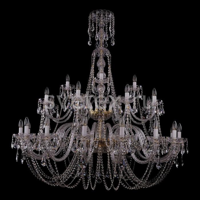 Фото Подвесная люстра Bohemia Ivele Crystal 1406 1406/16_8_4/500/G