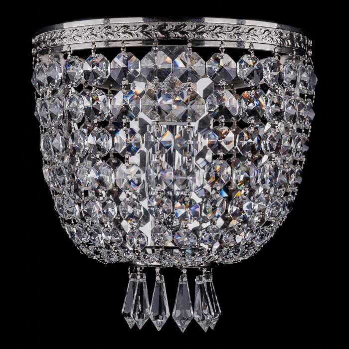 Фото Накладной светильник Bohemia Ivele Crystal 1927 1927/1/W/Ni