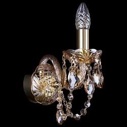 Бра Bohemia Ivele CrystalС 1 лампой<br>Артикул - BI_1400_1_G_M721,Бренд - Bohemia Ivele Crystal (Чехия),Коллекция - 1400,Гарантия, месяцы - 24,Высота, мм - 210,Размер упаковки, мм - 250x180x170,Тип лампы - компактная люминесцентная [КЛЛ] ИЛИнакаливания ИЛИсветодиодная [LED],Общее кол-во ламп - 1,Напряжение питания лампы, В - 220,Максимальная мощность лампы, Вт - 40,Лампы в комплекте - отсутствуют,Цвет плафонов и подвесок - коньячный,Тип поверхности плафонов - прозрачный,Материал плафонов и подвесок - хрусталь,Цвет арматуры - золото, коньячный,Тип поверхности арматуры - глянцевый, прозрачный, рельефный,Материал арматуры - металл, стекло,Возможность подлючения диммера - можно, если установить лампу накаливания,Форма и тип колбы - свеча ИЛИ свеча на ветру,Тип цоколя лампы - E14,Класс электробезопасности - I,Степень пылевлагозащиты, IP - 20,Диапазон рабочих температур - комнатная температура,Дополнительные параметры - способ крепления светильника на стене – на монтажной пластине, светильник предназначен для использования со скрытой проводкой<br>