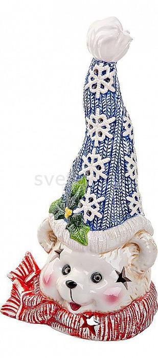 Зверь световой Mister ChristmasАртикул - MC_SGL-25,Бренд - Mister Christmas (Россия),Коллекция - Медвеженок,Высота, мм - 230,Высота - 23 см,Цвет - белый, синий,Материал - керамика,Компоненты, входящие в комплект - свеча-таблетка, батарейки,Дополнительные параметры - подсвечник;новогодняя упаковка<br>