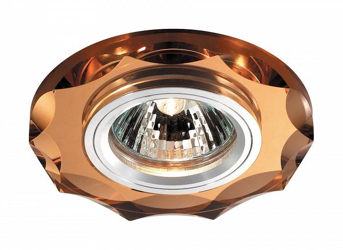 Встраиваемый светильник NovotechВстраиваемые светильники<br>Артикул - NV_369763,Бренд - Novotech (Венгрия),Коллекция - Mirror,Гарантия, месяцы - 24,Время изготовления, дней - 1,Глубина, мм - 20,Диаметр, мм - 95,Размер врезного отверстия, мм - 68,Тип лампы - галогеновая ИЛИсветодиодная [LED],Общее кол-во ламп - 1,Напряжение питания лампы, В - 12,Максимальная мощность лампы, Вт - 50,Лампы в комплекте - отсутствуют,Цвет плафонов и подвесок - янтарный,Тип поверхности плафонов - прозрачный,Материал плафонов и подвесок - хрусталь,Цвет арматуры - алюминий,Тип поверхности арматуры - глянцевый,Материал арматуры - металл,Количество плафонов - 1,Возможность подлючения диммера - можно, если установить галогеновую лампу,Форма и тип колбы - полусферическая с рефлектором ИЛИполусферическая с радиатором,Тип цоколя лампы - GX5.3,Экономичнее лампы накаливания - на 50%,Класс электробезопасности - I,Напряжение питания, В - 220,Степень пылевлагозащиты, IP - 20,Диапазон рабочих температур - комнатная температура,Дополнительные параметры - возможна установка лампы GX5.3 (MR-16) на 12 В с подключением через трансформатор 12 В<br>