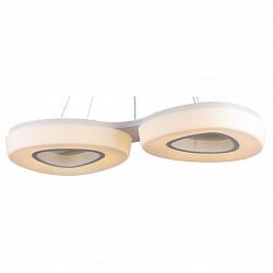 Подвесной светильник ST-LuceСветодиодные<br>Артикул - SL878.503.02,Бренд - ST-Luce (Китай),Коллекция - Regen,Гарантия, месяцы - 24,Высота, мм - 1200,Размер упаковки, мм - 870x440x130,Тип лампы - светодиодная [LED],Общее кол-во ламп - 2,Максимальная мощность лампы, Вт - 40,Лампы в комплекте - светодиодные [LED],Цвет плафонов и подвесок - белый,Тип поверхности плафонов - матовый,Материал плафонов и подвесок - акрил,Цвет арматуры - белый,Тип поверхности арматуры - матовый,Материал арматуры - металл,Возможность подлючения диммера - нельзя,Класс электробезопасности - I,Общая мощность, Вт - 80,Степень пылевлагозащиты, IP - 20,Диапазон рабочих температур - комнатная температура,Дополнительные параметры - способ крепления светильника к потолку - на монтажной пластине, регулируется по высоте<br>