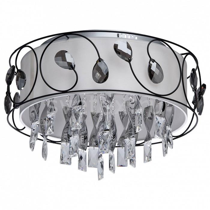 Накладной светильник MW-LightКруглые<br>Артикул - MW_465014012,Бренд - MW-Light (Германия),Коллекция - Жаклин 10,Гарантия, месяцы - 24,Время изготовления, дней - 1,Высота, мм - 350,Диаметр, мм - 500,Тип лампы - светодиодная [LED],Общее кол-во ламп - 12,Напряжение питания лампы, В - 220,Максимальная мощность лампы, Вт - 3,Цвет лампы - белый - белый холодный,Лампы в комплекте - светодиодные [LED],Цвет плафонов и подвесок - белый, дымчатый,Тип поверхности плафонов - матовый, прозрачный,Материал плафонов и подвесок - текстиль, хрусталь,Цвет арматуры - хром,Тип поверхности арматуры - глянцевый,Материал арматуры - металл,Количество плафонов - 1,Наличие выключателя, диммера или пульта ДУ - пульт ДУ,Цветовая температура, K - 4200-4500 K,Световой поток, лм - 3960,Экономичнее лампы накаливания - в 6.9 раза,Светоотдача, лм/Вт - 110,Класс электробезопасности - I,Общая мощность, Вт - 36,Степень пылевлагозащиты, IP - 20,Диапазон рабочих температур - комнатная температура,Дополнительные параметры - способ крепления светильника к потолку – на монтажной пластине<br>