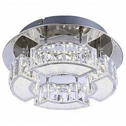 Потолочная люстра GloboПолимерные плафоны<br>Артикул - GB_49220-12,Бренд - Globo (Австрия),Коллекция - Silurus,Гарантия, месяцы - 24,Высота, мм - 100,Диаметр, мм - 250,Размер упаковки, мм - 265x120x270,Тип лампы - светодиодная [LED],Общее кол-во ламп - 4,Напряжение питания лампы, В - 24,Максимальная мощность лампы, Вт - 3,Лампы в комплекте - светодиодные [LED],Цвет плафонов и подвесок - неокрашенный,Тип поверхности плафонов - прозрачный,Материал плафонов и подвесок - акрил,Цвет арматуры - хром,Тип поверхности арматуры - глянцевый,Материал арматуры - металл,Возможность подлючения диммера - нельзя,Класс электробезопасности - I,Общая мощность, Вт - 12,Степень пылевлагозащиты, IP - 20,Диапазон рабочих температур - комнатная температура,Дополнительные параметры - способ крепления светильника к потолку - на монтажной пластине<br>