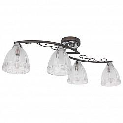 Потолочная люстра IDLampНе более 4 ламп<br>Артикул - ID_232_4PF-Blackchrome,Бренд - IDLamp (Италия),Коллекция - 232,Высота, мм - 220,Тип лампы - компактная люминесцентная [КЛЛ] ИЛИнакаливания ИЛИсветодиодная [LED],Общее кол-во ламп - 4,Напряжение питания лампы, В - 220,Максимальная мощность лампы, Вт - 60,Лампы в комплекте - отсутствуют,Цвет плафонов и подвесок - неокрашенный,Тип поверхности плафонов - матовый, рельефный,Материал плафонов и подвесок - стекло,Цвет арматуры - венге, хром,Тип поверхности арматуры - глянцевый, матовый,Материал арматуры - металл,Возможность подлючения диммера - можно, если установить лампу накаливания,Тип цоколя лампы - E14,Класс электробезопасности - I,Общая мощность, Вт - 240,Степень пылевлагозащиты, IP - 20,Диапазон рабочих температур - комнатная температура,Дополнительные параметры - способ крепления светильника к потолку – на монтажной пластине<br>