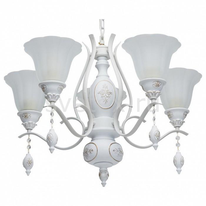 Подвесная люстра MW-LightЛюстры<br>Артикул - MW_639011505,Бренд - MW-Light (Германия),Коллекция - Версаче 11,Гарантия, месяцы - 24,Высота, мм - 920,Диаметр, мм - 690,Размер упаковки, мм - 600x650x190,Тип лампы - компактная люминесцентная [КЛЛ] ИЛИнакаливания ИЛИсветодиодная [LED],Общее кол-во ламп - 5,Напряжение питания лампы, В - 220,Максимальная мощность лампы, Вт - 60,Лампы в комплекте - отсутствуют,Цвет плафонов и подвесок - белый, золото,Тип поверхности плафонов - матовый, рельефный,Материал плафонов и подвесок - искусственный каучук, стекло,Цвет арматуры - белый, золото,Тип поверхности арматуры - матовый, рельефный,Материал арматуры - металл,Количество плафонов - 5,Возможность подлючения диммера - можно, если установить лампу накаливания,Тип цоколя лампы - E27,Класс электробезопасности - I,Общая мощность, Вт - 300,Степень пылевлагозащиты, IP - 20,Диапазон рабочих температур - комнатная температура,Дополнительные параметры - способ крепления светильника к потолоку – на монтажной пластине<br>
