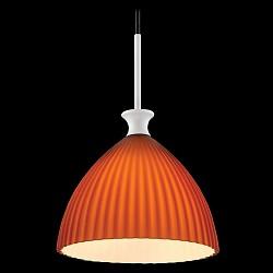 Подвесной светильник MaytoniБарные<br>Артикул - MY_MOD702-01-R,Бренд - Maytoni (Германия),Коллекция - Canou,Гарантия, месяцы - 24,Высота, мм - 1500-3030,Диаметр, мм - 180,Тип лампы - компактная люминесцентная [КЛЛ] ИЛИнакаливания ИЛИсветодиодная [LED],Общее кол-во ламп - 1,Напряжение питания лампы, В - 220,Максимальная мощность лампы, Вт - 40,Лампы в комплекте - отсутствуют,Цвет плафонов и подвесок - оранжевый полосатый,Тип поверхности плафонов - матовый,Материал плафонов и подвесок - стекло,Цвет арматуры - хром,Тип поверхности арматуры - глянцевый,Материал арматуры - металл,Возможность подлючения диммера - можно, если установить лампу накаливания,Тип цоколя лампы - E27,Класс электробезопасности - I,Степень пылевлагозащиты, IP - 20,Диапазон рабочих температур - комнатная температура,Дополнительные параметры - способ крепления светильника к потолку - на монтажной пластине, регулируется по высоте<br>