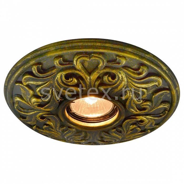 Фото Встраиваемый светильник Arte Lamp Plaster A5270PL-1BG