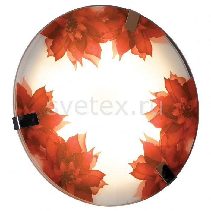 Накладной светильник LussoleКруглые<br>Артикул - LSN-5252-01,Бренд - Lussole (Италия),Коллекция - LSN-52,Гарантия, месяцы - 24,Высота, мм - 40,Диаметр, мм - 400,Тип лампы - светодиодная [LED],Общее кол-во ламп - 1,Максимальная мощность лампы, Вт - 16,Цвет лампы - белый,Лампы в комплекте - светодиодная [LED],Цвет плафонов и подвесок - белый с красным рисунком,Тип поверхности плафонов - матовый,Материал плафонов и подвесок - стекло,Цвет арматуры - хром,Тип поверхности арматуры - глянцевый,Материал арматуры - металл,Количество плафонов - 1,Возможность подлючения диммера - нельзя,Цветовая температура, K - 3800 - 4200 K,Световой поток, лм - 1400,Экономичнее лампы накаливания - в 6.9 раза,Светоотдача, лм/Вт - 88,Класс электробезопасности - I,Напряжение питания, В - 220,Степень пылевлагозащиты, IP - 20,Диапазон рабочих температур - комнатная температура,Дополнительные параметры - способ крепления светильника к потолоку - на монтажной пластине, техника мозаика<br>