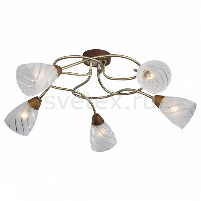 Потолочная люстра LussoleЛюстры<br>Артикул - LSP-0083,Бренд - Lussole (Италия),Коллекция - LGO-4,Время изготовления, дней - 1,Высота, мм - 250,Диаметр, мм - 700,Тип лампы - компактная люминесцентная [КЛЛ] ИЛИнакаливания ИЛИсветодиодная [LED],Общее кол-во ламп - 5,Напряжение питания лампы, В - 220,Максимальная мощность лампы, Вт - 40,Лампы в комплекте - отсутствуют,Цвет плафонов и подвесок - белый полосатый,Тип поверхности плафонов - матовый,Материал плафонов и подвесок - стекло,Цвет арматуры - бронза, коричневый,Тип поверхности арматуры - глянцевый, матовый,Материал арматуры - металл,Количество плафонов - 5,Возможность подлючения диммера - можно, если установить лампу накаливания,Тип цоколя лампы - E14,Класс электробезопасности - I,Общая мощность, Вт - 200,Степень пылевлагозащиты, IP - 20,Диапазон рабочих температур - комнатная температура<br>