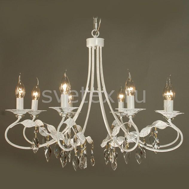 Подвесная люстра CitiluxБолее 6 ламп<br>Артикул - CL418182,Бренд - Citilux (Дания),Коллекция - Честер,Гарантия, месяцы - 24,Время изготовления, дней - 1,Высота, мм - 440-1100,Диаметр, мм - 720,Тип лампы - компактная люминесцентная [КЛЛ] ИЛИнакаливания ИЛИсветодиодная [LED],Общее кол-во ламп - 8,Напряжение питания лампы, В - 220,Максимальная мощность лампы, Вт - 60,Лампы в комплекте - отсутствуют,Цвет плафонов и подвесок - неокрашенный,Тип поверхности плафонов - прозрачный,Материал плафонов и подвесок - хрусталь,Цвет арматуры - белый,Тип поверхности арматуры - матовый,Материал арматуры - металл,Возможность подлючения диммера - можно, если установить лампу накаливания,Форма и тип колбы - свеча ИЛИ свеча на ветру,Тип цоколя лампы - E14,Класс электробезопасности - I,Общая мощность, Вт - 480,Степень пылевлагозащиты, IP - 20,Диапазон рабочих температур - комнатная температура<br>
