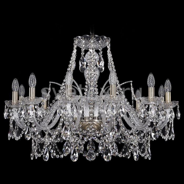 Подвесная люстра Bohemia Ivele CrystalБолее 6 ламп<br>Артикул - BI_1411_12_300_Pa,Бренд - Bohemia Ivele Crystal (Чехия),Коллекция - 1411,Гарантия, месяцы - 24,Высота, мм - 660,Диаметр, мм - 820,Размер упаковки, мм - 640x640x320,Тип лампы - компактная люминесцентная [КЛЛ] ИЛИнакаливания ИЛИсветодиодная [LED],Общее кол-во ламп - 12,Напряжение питания лампы, В - 220,Максимальная мощность лампы, Вт - 40,Лампы в комплекте - отсутствуют,Цвет плафонов и подвесок - неокрашенный,Тип поверхности плафонов - прозрачный,Материал плафонов и подвесок - хрусталь,Цвет арматуры - золото с патиной, неокрашенный,Тип поверхности арматуры - глянцевый, прозрачный,Материал арматуры - металл, стекло,Возможность подлючения диммера - можно, если установить лампу накаливания,Форма и тип колбы - свеча ИЛИ свеча на ветру,Тип цоколя лампы - E14,Класс электробезопасности - I,Общая мощность, Вт - 480,Степень пылевлагозащиты, IP - 20,Диапазон рабочих температур - комнатная температура,Дополнительные параметры - способ крепления светильника к потолку - на крюке, указана высота светильники без подвеса<br>