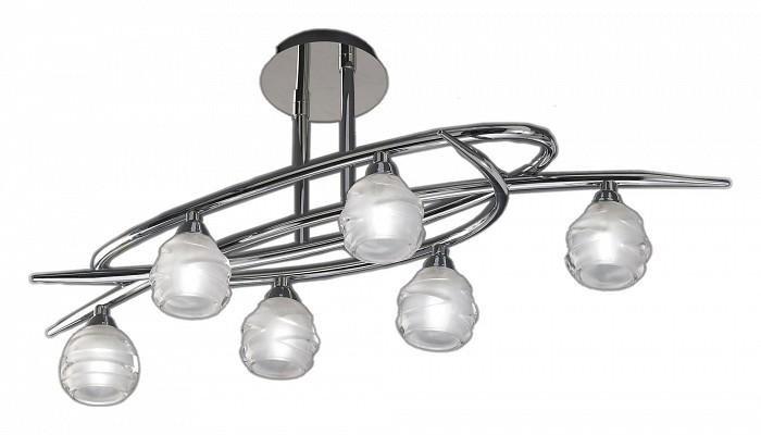 Люстра на штанге MantraЛюстры<br>Артикул - MN_1802,Бренд - Mantra (Испания),Коллекция - Loop,Гарантия, месяцы - 24,Время изготовления, дней - 1,Длина, мм - 650,Ширина, мм - 250,Высота, мм - 240,Тип лампы - галогеновая,Общее кол-во ламп - 6,Напряжение питания лампы, В - 220,Максимальная мощность лампы, Вт - 33,Цвет лампы - белый теплый,Лампы в комплекте - галогеновые G9,Цвет плафонов и подвесок - неокрашенный,Тип поверхности плафонов - матовый,Материал плафонов и подвесок - стекло,Цвет арматуры - хром,Тип поверхности арматуры - матовый,Материал арматуры - металл,Количество плафонов - 6,Возможность подлючения диммера - можно,Форма и тип колбы - пальчиковая,Тип цоколя лампы - G9,Цветовая температура, K - 2800 - 3200 K,Экономичнее лампы накаливания - на 50%,Класс электробезопасности - I,Общая мощность, Вт - 198,Степень пылевлагозащиты, IP - 20,Диапазон рабочих температур - комнатная температура<br>