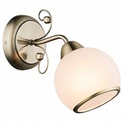 Бра GloboС 1 лампой<br>Артикул - GB_54713W,Бренд - Globo (Австрия),Коллекция - Comodoro I,Гарантия, месяцы - 24,Высота, мм - 230,Тип лампы - компактная люминесцентная [КЛЛ] ИЛИнакаливания ИЛИсветодиодная [LED],Общее кол-во ламп - 1,Напряжение питания лампы, В - 220,Максимальная мощность лампы, Вт - 40,Лампы в комплекте - отсутствуют,Цвет плафонов и подвесок - белый с каймой,Тип поверхности плафонов - матовый,Материал плафонов и подвесок - стекло,Цвет арматуры - бронза античная,Тип поверхности арматуры - матовый,Материал арматуры - металл,Возможность подлючения диммера - можно, если установить лампу накаливания,Тип цоколя лампы - E14,Класс электробезопасности - I,Степень пылевлагозащиты, IP - 20,Диапазон рабочих температур - комнатная температура,Дополнительные параметры - светильник предназначен для использования со скрытой проводкой<br>