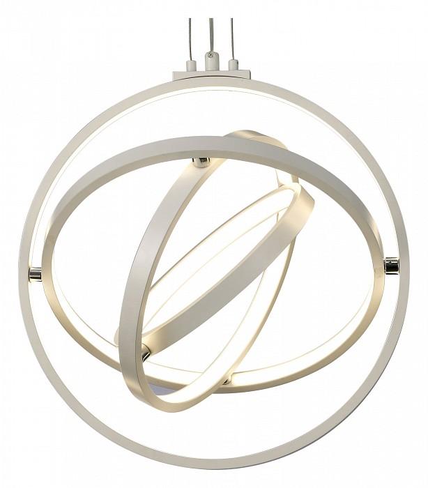 Подвесной светильник MantraС пультом управления<br>Артикул - MN_5742,Бренд - Mantra (Испания),Коллекция - Orbital,Гарантия, месяцы - 24,Высота, мм - 1980,Диаметр, мм - 400,Тип лампы - светодиодная [LED],Общее кол-во ламп - 1,Напряжение питания лампы, В - 220,Максимальная мощность лампы, Вт - 54,Цвет лампы - белый теплый,Лампы в комплекте - светодиодная [LED] с возможностью диммирования,Цвет плафонов и подвесок - белый,Тип поверхности плафонов - матовый,Материал плафонов и подвесок - акрил,Цвет арматуры - хром,Тип поверхности арматуры - глянцевый,Материал арматуры - металл,Количество плафонов - 1,Наличие выключателя, диммера или пульта ДУ - пульт ДУ,Цветовая температура, K - 3000 K,Световой поток, лм - 2000,Экономичнее лампы накаливания - В 2, 7 раза,Светоотдача, лм/Вт - 37,Класс электробезопасности - I,Степень пылевлагозащиты, IP - 20,Диапазон рабочих температур - комнатная температура,Дополнительные параметры - способ крепления светильника к потолку - на монтажной пластине, светильник регулируется по высоте<br>