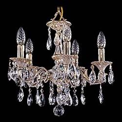 Подвесная люстра Bohemia Ivele Crystal5 или 6 ламп<br>Артикул - BI_1707_5_125_A_GW,Бренд - Bohemia Ivele Crystal (Чехия),Коллекция - 1707,Гарантия, месяцы - 24,Высота, мм - 350,Диаметр, мм - 420,Размер упаковки, мм - 450x450x200,Тип лампы - компактная люминесцентная [КЛЛ] ИЛИнакаливания ИЛИсветодиодная [LED],Общее кол-во ламп - 5,Напряжение питания лампы, В - 220,Максимальная мощность лампы, Вт - 40,Лампы в комплекте - отсутствуют,Цвет плафонов и подвесок - неокрашенный,Тип поверхности плафонов - прозрачный,Материал плафонов и подвесок - хрусталь,Цвет арматуры - золото беленое,Тип поверхности арматуры - глянцевый, рельефный,Материал арматуры - латунь,Возможность подлючения диммера - можно, если установить лампу накаливания,Форма и тип колбы - свеча ИЛИ свеча на ветру,Тип цоколя лампы - E14,Класс электробезопасности - I,Общая мощность, Вт - 200,Степень пылевлагозащиты, IP - 20,Диапазон рабочих температур - комнатная температура,Дополнительные параметры - способ крепления светильника к потолку - на крюке, указана высота светильника без подвеса<br>