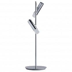 Настольная лампа офисная MW-LightПолимерные<br>Артикул - MW_631033002,Бренд - MW-Light (Германия),Коллекция - Ракурс 2,Гарантия, месяцы - 24,Высота, мм - 520,Диаметр, мм - 160,Тип лампы - светодиодная [LED],Общее кол-во ламп - 2,Напряжение питания лампы, В - 10,Максимальная мощность лампы, Вт - 3,Лампы в комплекте - светодиодные [LED],Цвет плафонов и подвесок - белый,Тип поверхности плафонов - матовый,Материал плафонов и подвесок - полимер,Цвет арматуры - хром,Тип поверхности арматуры - глянцевый,Материал арматуры - металл,Класс электробезопасности - II,Общая мощность, Вт - 6,Степень пылевлагозащиты, IP - 20,Диапазон рабочих температур - комнатная температура,Дополнительные параметры - поворотный светильник<br>