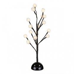 Сакура световая (45 см) GloboСакуры световые<br>Артикул - GB_39117,Бренд - Globo (Австрия),Коллекция - Viridis,Гарантия, месяцы - 24,Высота, мм - 450,Диаметр, мм - 200,Тип лампы - светодиодная [LED],Общее кол-во ламп - 16,Напряжение питания лампы, В - 4.5,Максимальная мощность лампы, Вт - 0.06,Лампы в комплекте - светодиодные [LED],Цвет плафонов и подвесок - неокрашенный,Тип поверхности плафонов - прозрачный,Материал плафонов и подвесок - полимер,Цвет арматуры - дымчатый,Тип поверхности арматуры - глянцевый,Материал арматуры - металл,Класс электробезопасности - III,Степень пылевлагозащиты, IP - 44,Диапазон рабочих температур - от -40^C до +40^C<br>